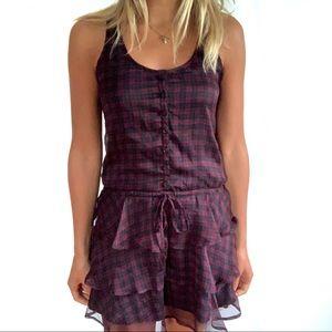 5/$25 Tommy Hilfiger ButtonDown Plaid Skater Dress